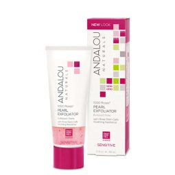 "Gommage perlé ""Rose"" 58ml - Andalou Naturals"