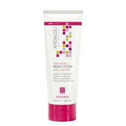 """Lotion hydratante corps """"Rose"""" 236ml - Andalou Naturals"""