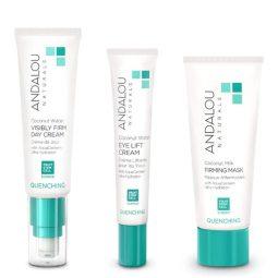 Coffret cadeau soins visage peau sèche vegan & bio