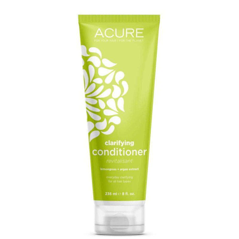 Après shampoing vegan et bio clarifiant Citronnelle Argan - Acure Organics