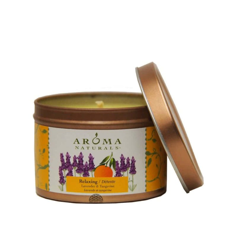"""Relaxing"" Bougie vegan & naturelle - Aroma Naturals"