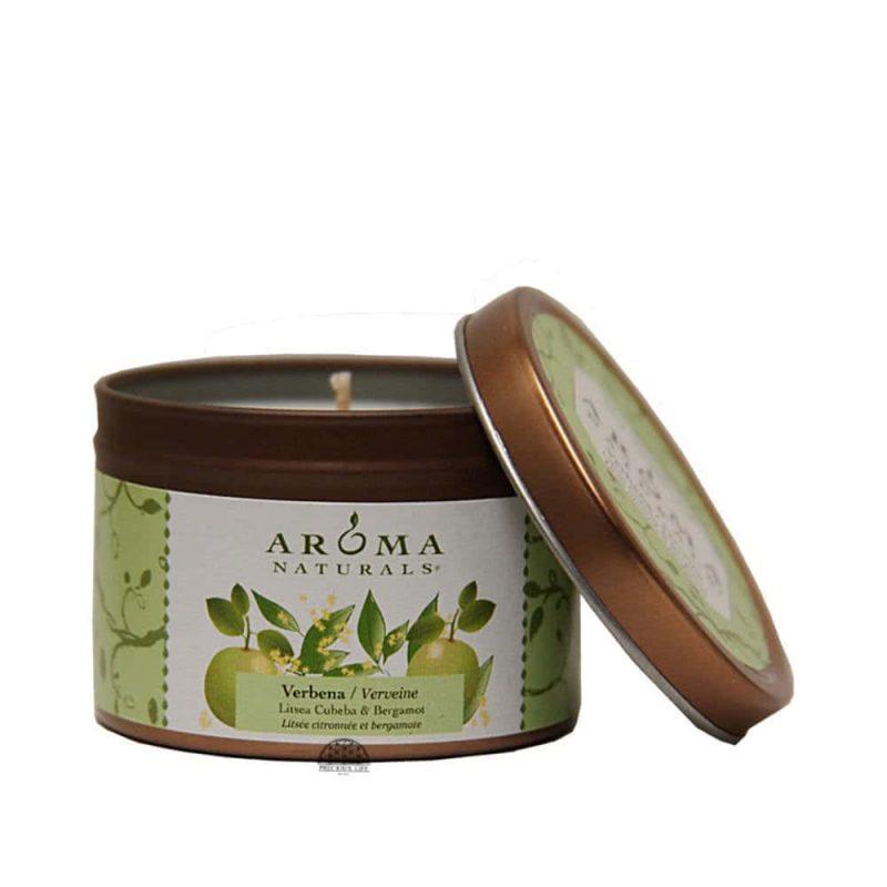 """""""Verbena"""" Bougie vegan & naturelle - Aroma Naturals"""