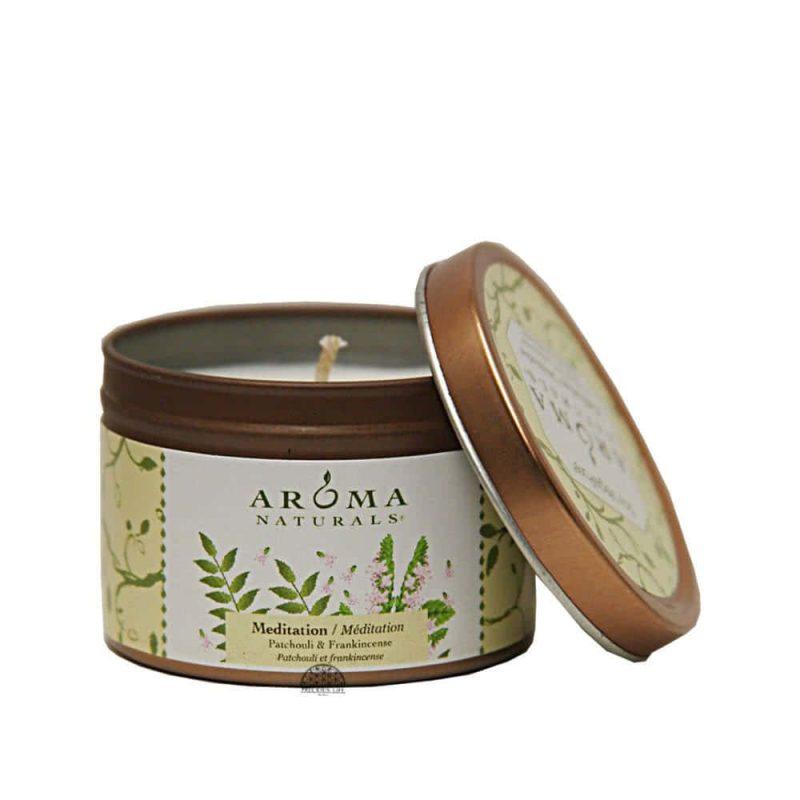 "Aroma Naturals - ""Meditation"" Bougie vegan & naturelle"