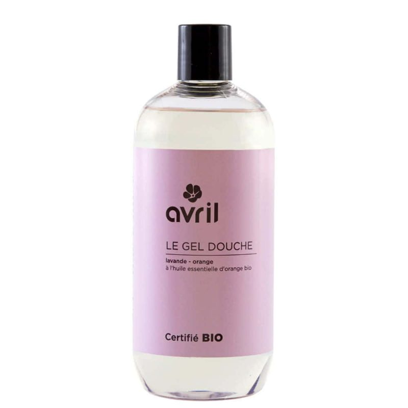 "Gel douche vegan ""Lavande et Orange"" - Avril Beauté"
