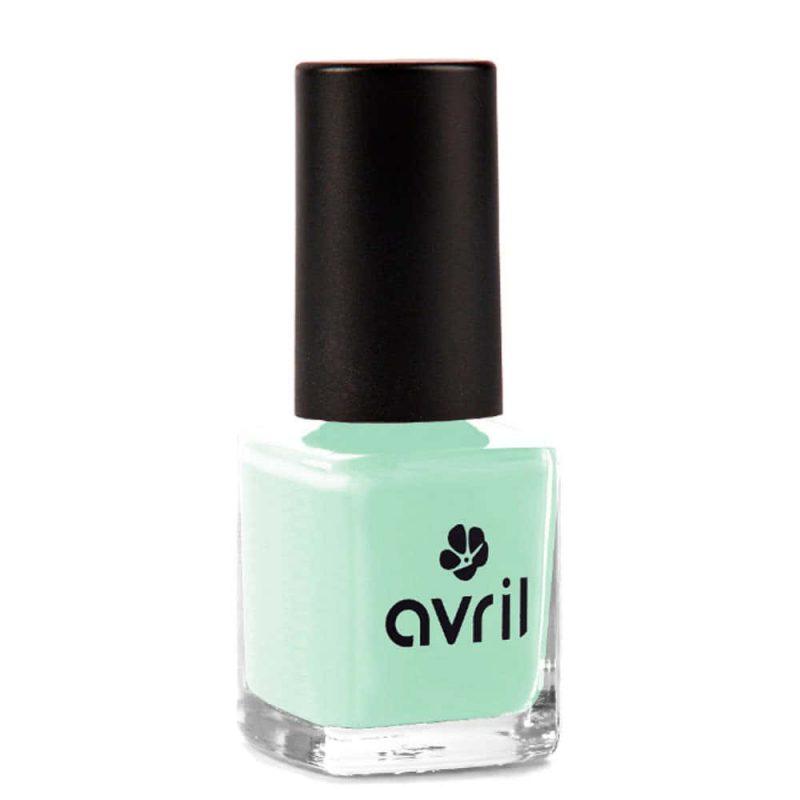 """Vegan et Petit prix ! Vernis à ongles """"Vert D'eau"""" - Avril"""