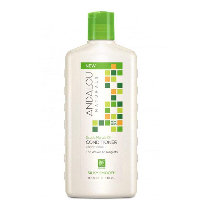 Après shampoing lissant vegan & bio à l'huile de marula - Andalou Naturals
