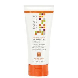 Gel douche vegan & bio Mandarine Vanille 251ml