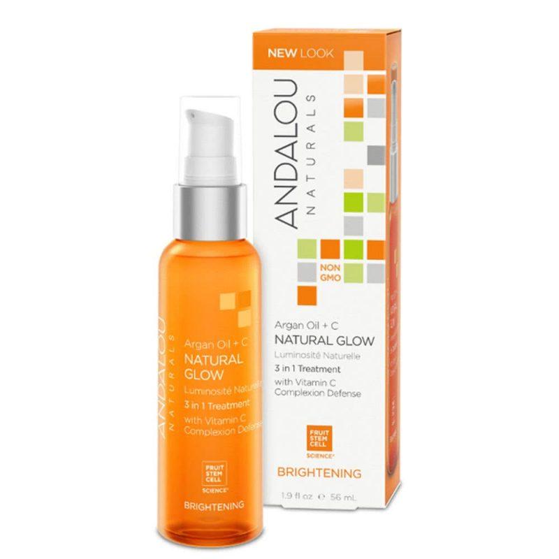 """Soin 3en1 vegan & bio """"Argan et Vitamine C"""" - Andalou Naturals"""