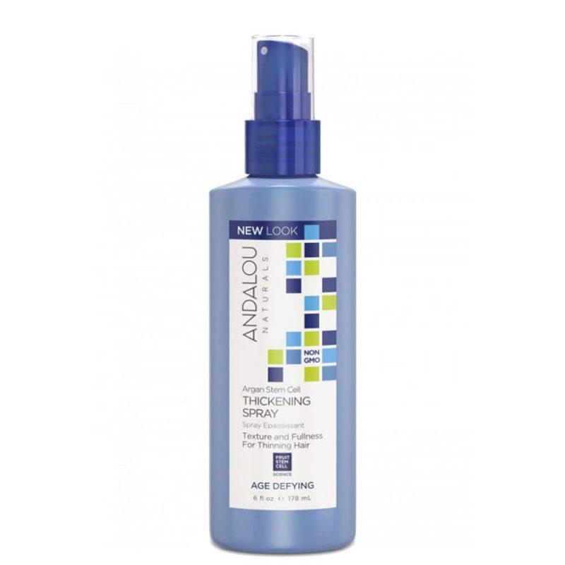 Spray cheveux texturisant vegan & bio à l'argan - Andalou Naturals