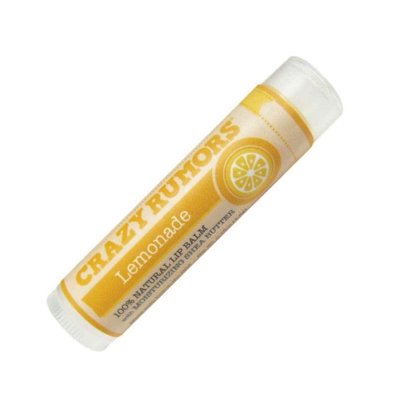 Crazy Rumors - Baume à lèvres vegan & bio parfum Lemonade