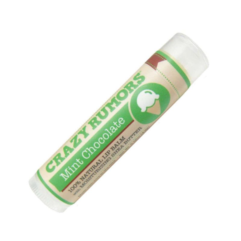 Baume à lèvres vegan & bio parfum Mint Chocolate - Crazy Rumors