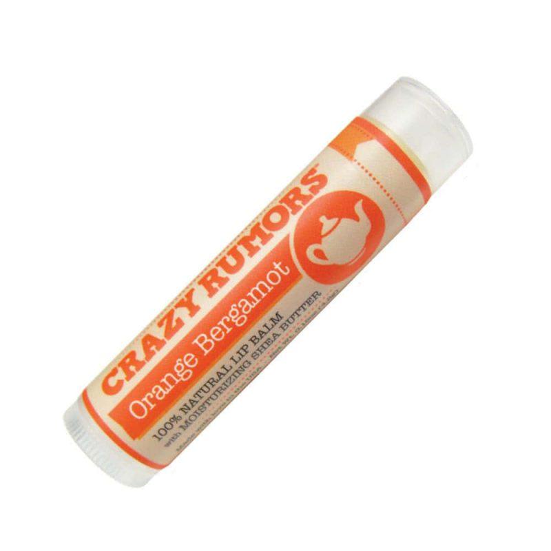 Baume à lèvres vegan & bio parfum Orange Bergamot - Crazy Rumors