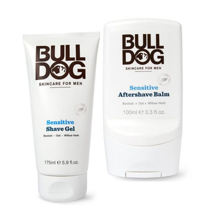 Coffret cadeau vegan rasage peau sensible - Bulldog Skincare