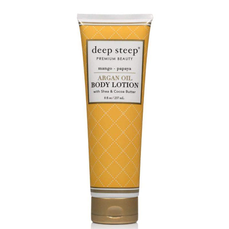 Deep Steep - Lotion corps vegan & bio senteur Mangue Papaye