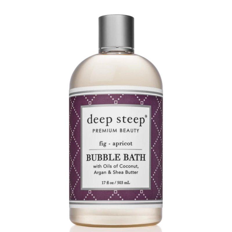 Bain moussant vegan & bio senteur Figue Abricot - Deep Steep