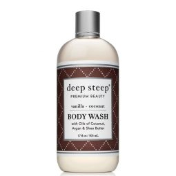 Gel douche vegan & bio senteur Vanille Coco - Deep Steep