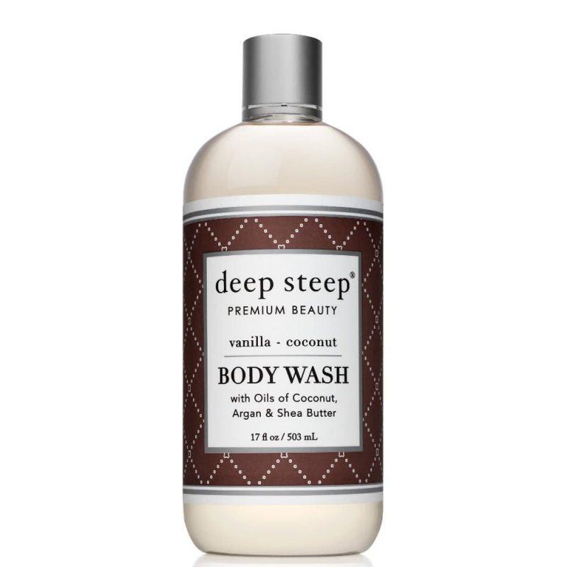 Gel douche vegan & bio senteur Vanille Coco - Deep Steep