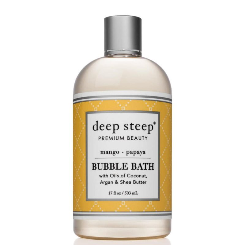 Bain moussant vegan & bio Mangue Papaye - Deep Steep