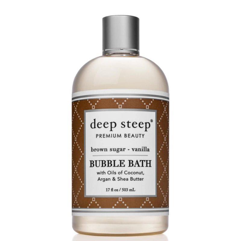 Bain moussant vegan senteur Vanille Sucre roux - Deep Steep