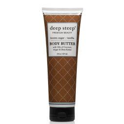Beurre pour le corps vegan Vanille Sucre roux - Deep Steep