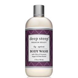 Gel douche vegan & bio senteur Figue Abricot - Deep Steep