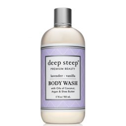 Gel douche vegan & bio senteur Lavande Vanille - Deep Steep