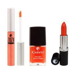 """Coffret cadeau vegan """"Orange Collection"""" - Zuzu Luxe et Gabriel Color"""