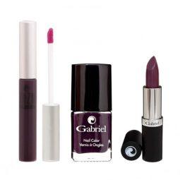 """Coffret cadeau vegan """"Purple Collection"""" - Zuzu Luxe et Gabriel Color"""