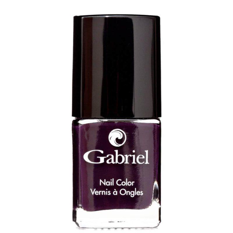 Vernis vegan & 5free couleur Wicked Plum - Gabriel Color