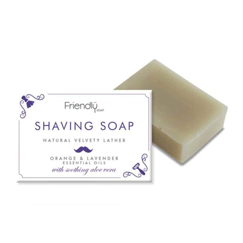 Savon SAF à barbe vegan Orange et Lavande - Friendly Soap