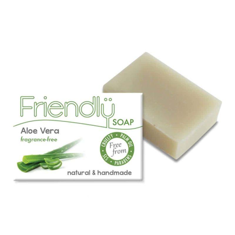 Savon SAF vegan & naturel Aloe Vera - Friendly Soap