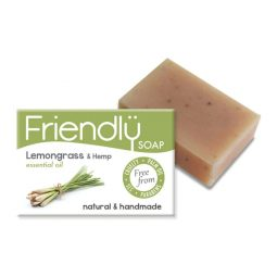 Savon SAF vegan & naturel à la citronnelle et au chanvre - Friendly Soap