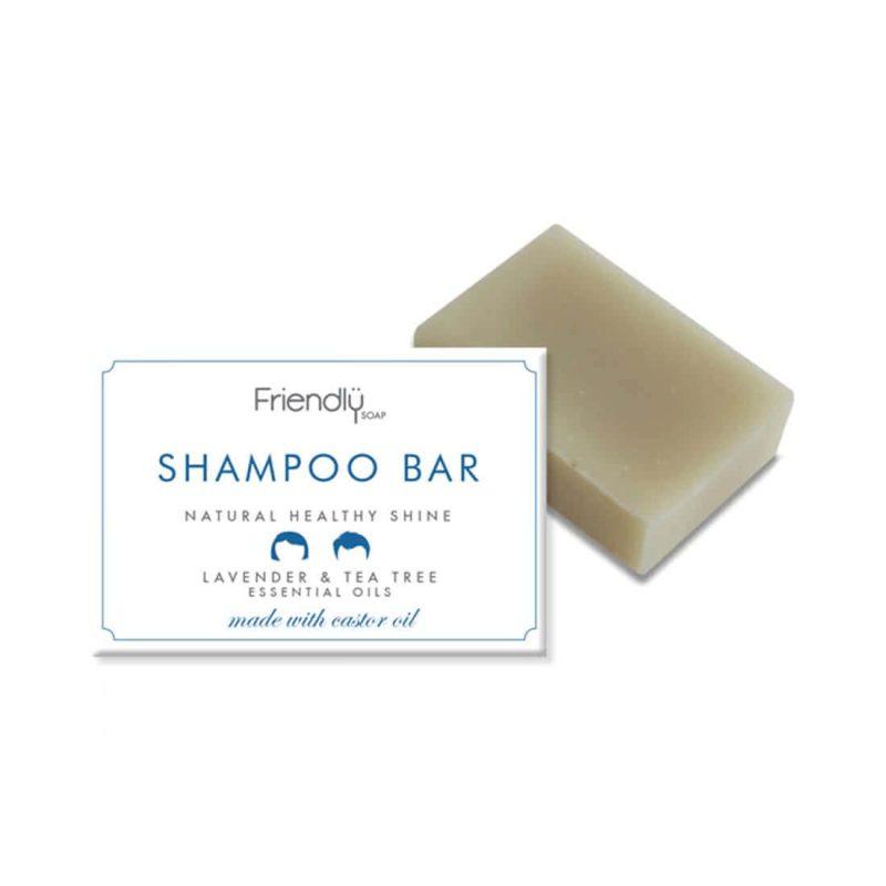 Shampoing SAF vegan & naturel Lavande et Arbre à thé - Friendly Soap