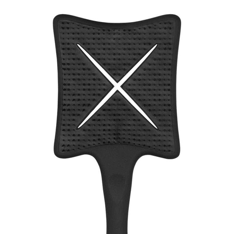 Brosse Paddle X couleur Beluga Black - Ikoo
