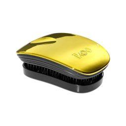 Brosse Pocket collection Metallic couleur Soleil - Ikoo