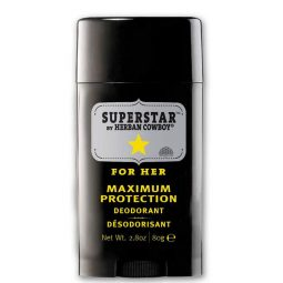 Déodorant vegan & naturel stick senteur Superstar 80gr