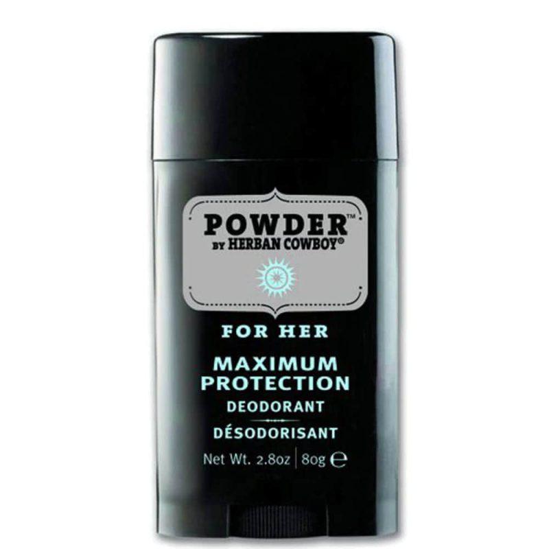 Déodorant vegan & naturel stick senteur Powder - Herban Cowboy