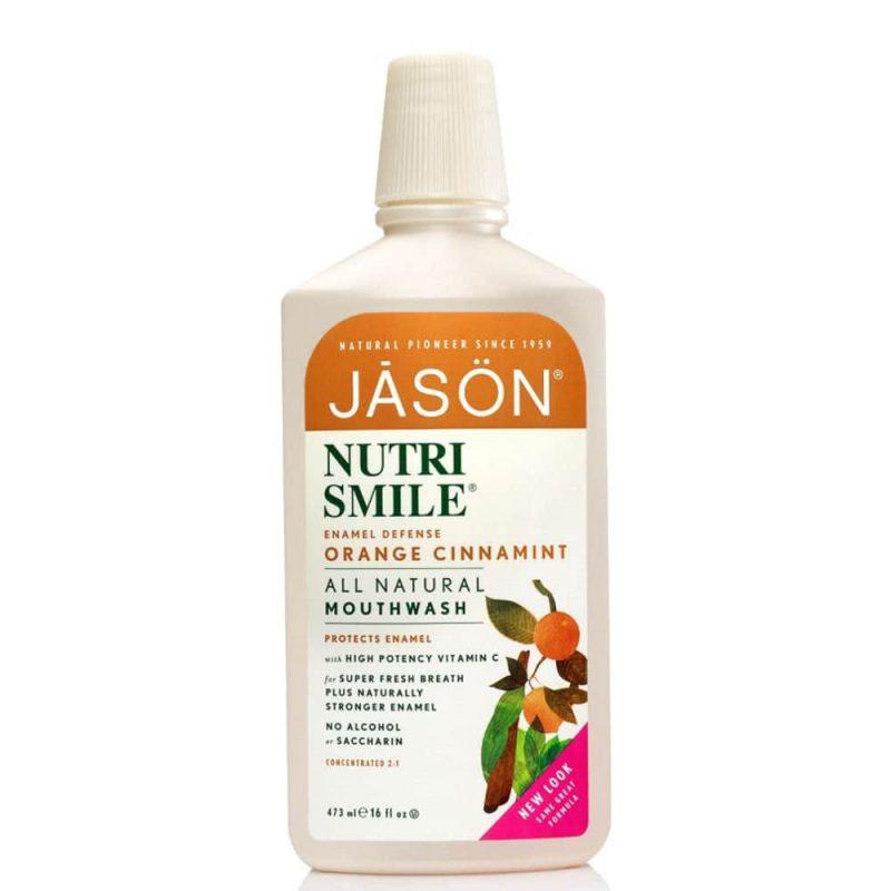 "Jason Natural - Bain de bouche vegan & naturel ""Nutrismile"""