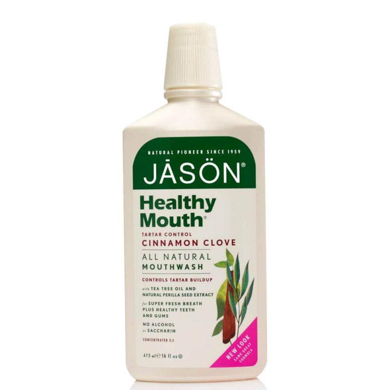 Bain de bouche vegan & naturel Healthy Mouth - Jason Natural
