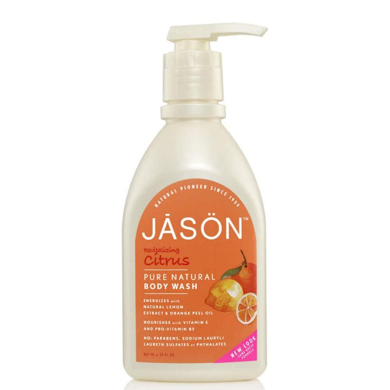 Gel douche vegan & naturel senteur Agrumes - Jason Natural