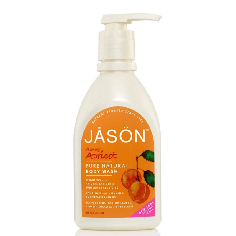 Gel douche vegan & naturel senteur Abricot - Jason Natural