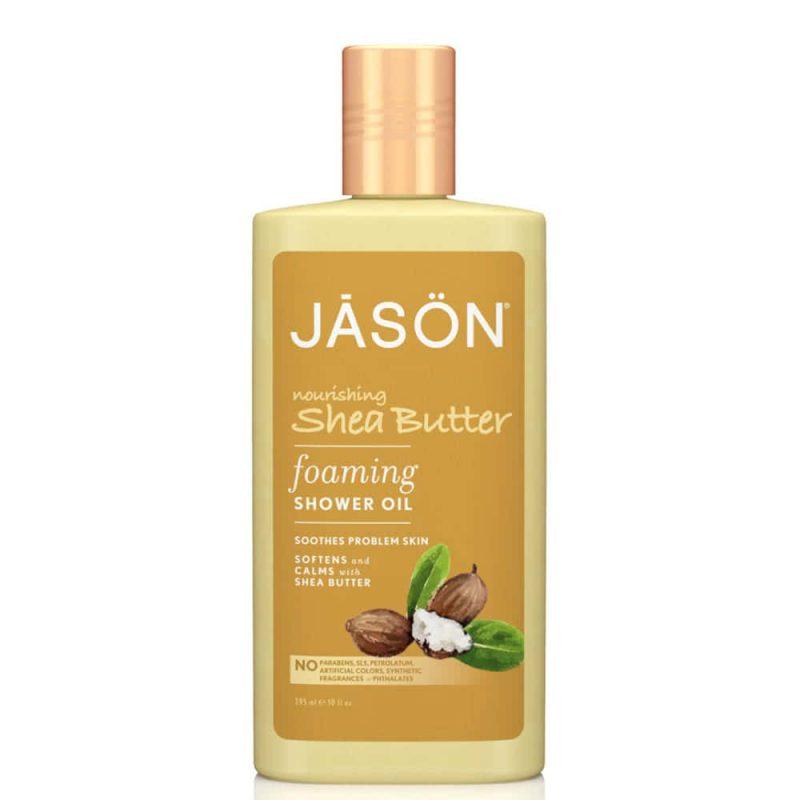 Huile de douche vegan & naturelle au beurre de karité - Jason Naturals