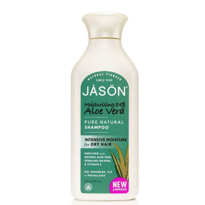 shampoing vegan naturel l 39 aloe vera jason natural. Black Bedroom Furniture Sets. Home Design Ideas