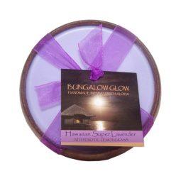 """""""Hawaiian Super Lavender"""" Bougie vegan & naturelle senteur lavande, citronnelle 160gr"""