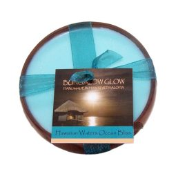 """""""Hawaiian Waters Ocean Bliss"""" Bougie vegan & naturelle senteur fleur de riz, thé vert, concombre 160gr"""