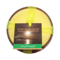 """Juicy Pineaple"" Bougie vegan & naturelle senteur ananas 160gr"
