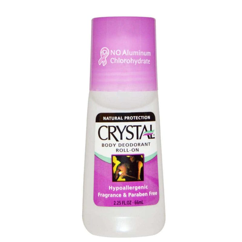 Déodorant roll on vegan & naturel sans parfum - Crystal Body Deodorant