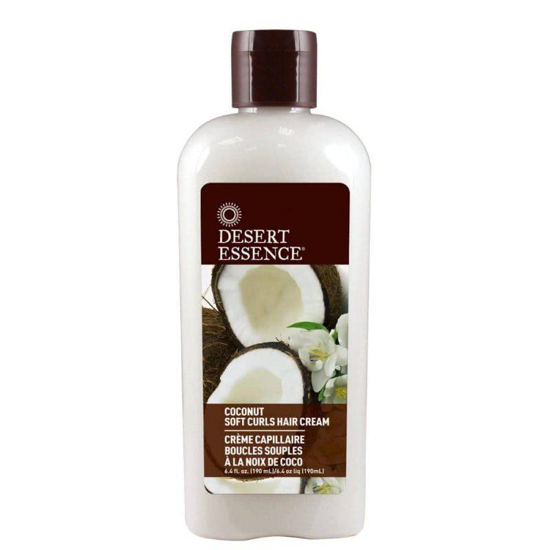 Soin vegan & bio à la noix de coco pour cheveux bouclés - Desert Essence