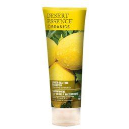 Shampoing vegan & bio au citron et à l'arbre à thé 237ml