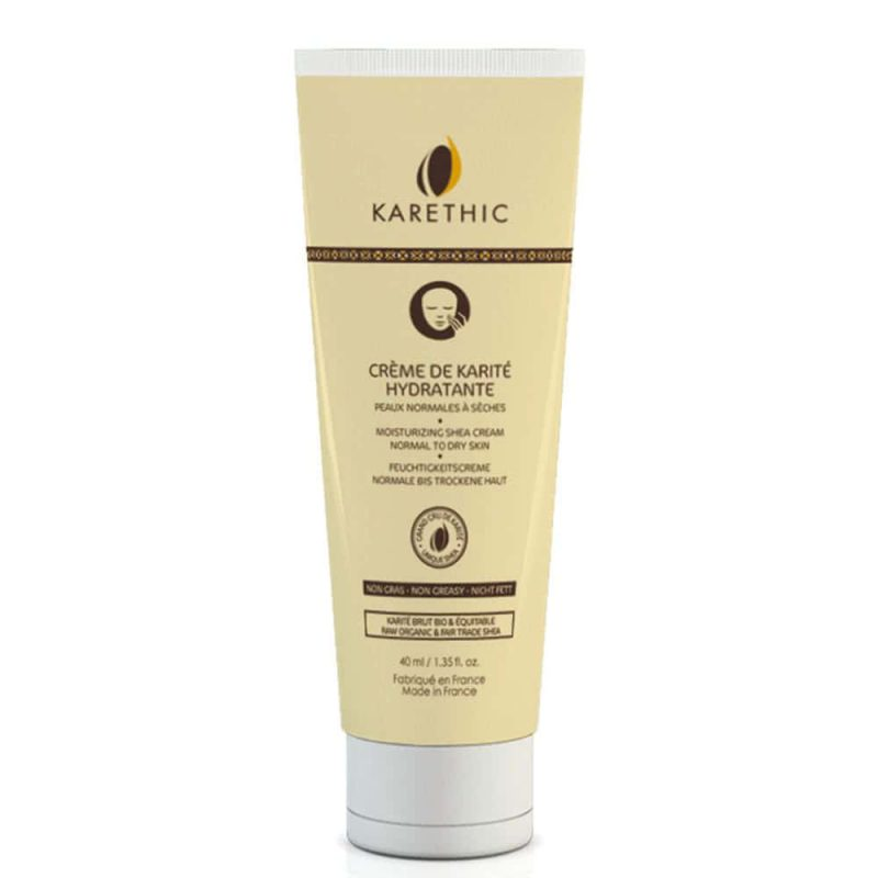 Crème de Karité Hydratante vegan et bio - Karethic
